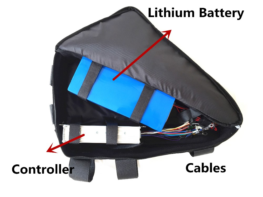 middle frame bag for controller and battery