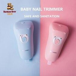 Детские триммер для ногтей Дети электрический ногтей безопасные ножницы новорожденных ногтей Уход за ногтями