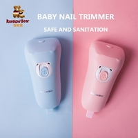 Baby Nail Trimmer Kids Electric Nail Scissors Safe Newborn Nail Care Nail Clipper