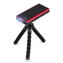 Mini Tasche DLP Projektor Drahtlose Wifi HD E06S Wireless Wifi Unterstützung 1080 P Full HD Miracast Proyector Freien