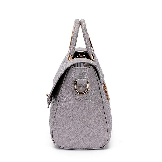 BANNINIU Flap V Women's Luxury Leather Black Clutch Bag Ladies Handbags Brand Women Messenger Bags Sac A Main Femme 2017 Bolsa