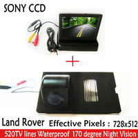 CCD SONY Car Parking Car rear view camera with 4.3monitor+car Camera for Land Rover Discovery Range Rover Sport Freelande