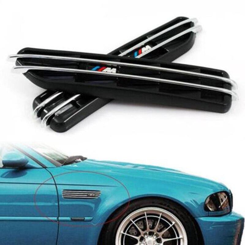 Car grille for B-M-W E60 530 535 M5 fender side vent shark gill chrome matte blackCar grille for B-M-W E60 530 535 M5 fender side vent shark gill chrome matte black