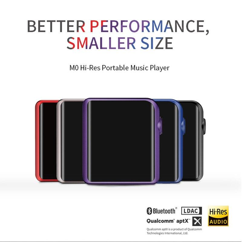 Shanling M0 Salut-Res Portable lecteur de Musique Bluetooth Écran Tactile