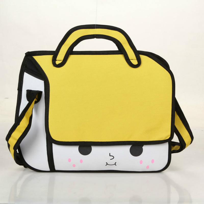 FZMBAI Cute Cartoon Bags Creative 3D Messenger Bags Chic Computer Bags-in  Crossbody Bags from Luggage & Bags on Aliexpress.com | Alibaba Group
