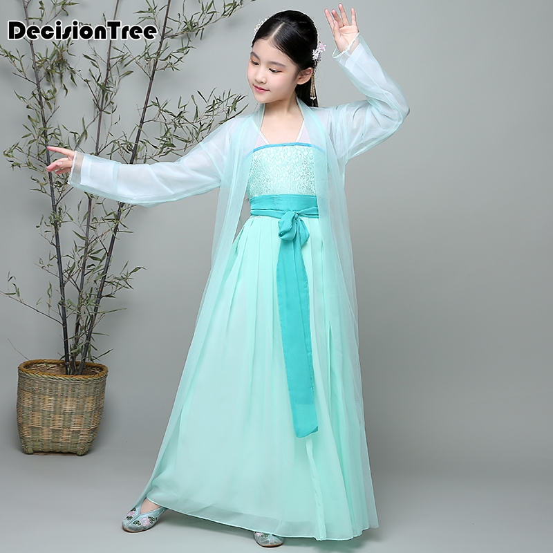 2019 new china hanfu dress christmas dance costumes girl traditional chinese tang ancient costume classical children kid girl2019 new china hanfu dress christmas dance costumes girl traditional chinese tang ancient costume classical children kid girl