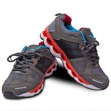 shoes men font b sports b font running comfortable Lace Up New arrival Stability light breathable