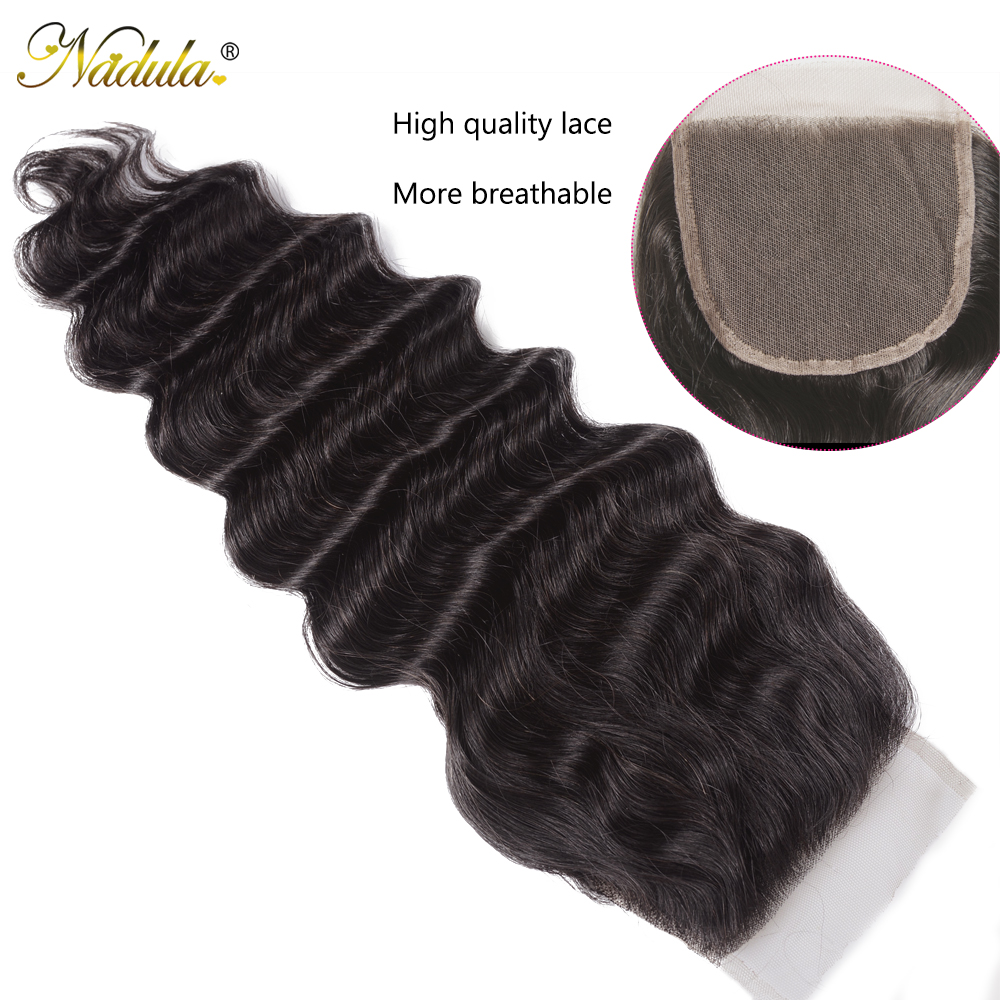 Nadula Hair Loose Deep Bundles With Closure    Bundles With Closure  Hair Bundles With Closure 5