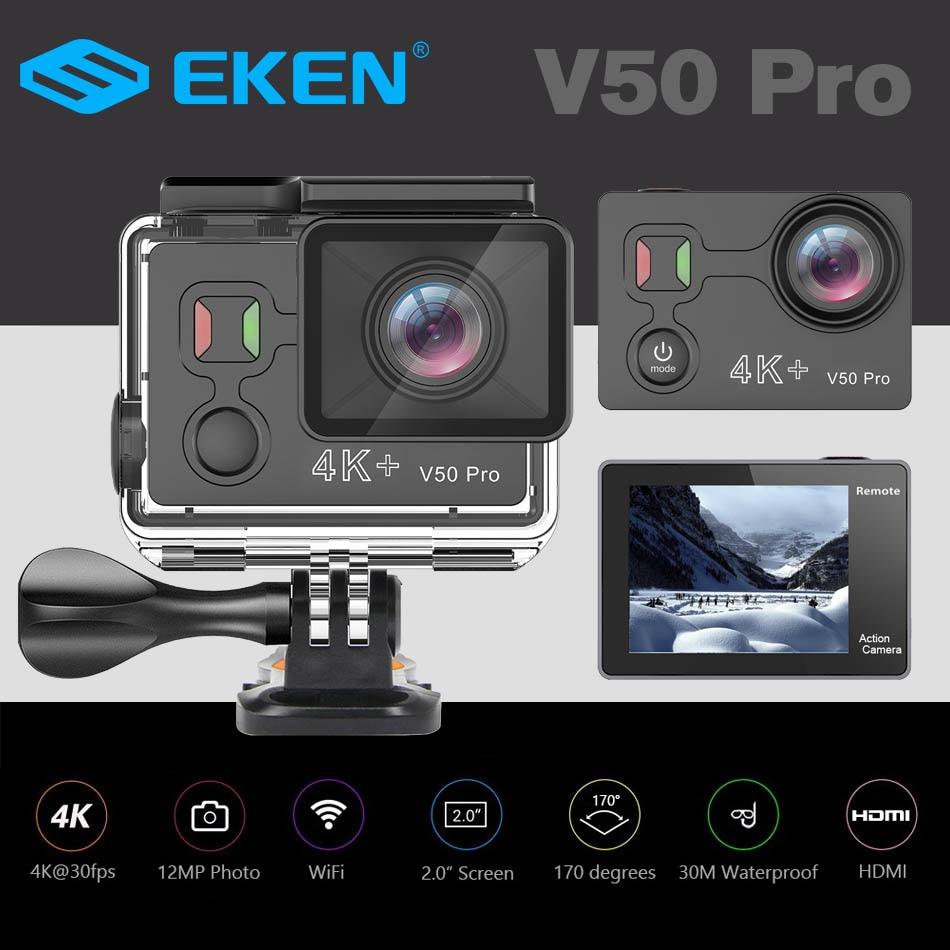 Original Eken V50 Pro Action Kamera Ambarella Chipsatz Ultra Hd 4 Karat Unterhaltungselektronik 30fps Wi-fi Unterwasser Wasserdichte Sport Cam Angenehm Bis Zum Gaumen