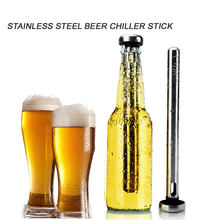 1pc Stainless Steel Cooler Sticks Bottle Inner Beer Chiller Sticks for Rapid Chilling Bottled Drinks Physical Frozen(China)