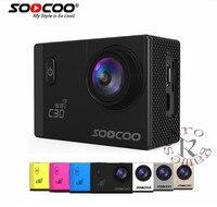 SOOCOO C30/C30R 4K Sports Camera 1080P/60FPS HD Wifi Gyro NOVATEK96660 30M Waterproof Action Camera
