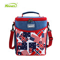 New Zealand Flag Cowboy Barrel Lunch Bag Women Warm Food Picnic Box Office Staff Aluminum Large Tote Handbags Thermal Cooler Bag