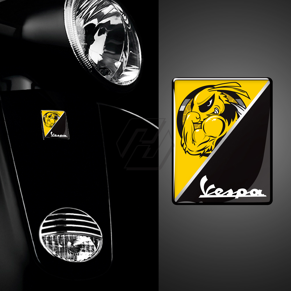 3D Motorcycle Decal Italy Stickers Replace Logo Sticker Case For PIAGGIO VESPA GTS GTV LX LXV 125 250 300 Ie Super