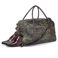 Mealivos Men Travel Bag for Luggage Overnight Travel bag Carry On Duffel with Shoe Pouch Duffel Bags Big Weekend Bags
