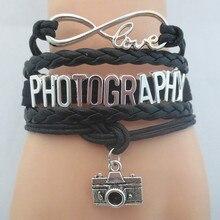 Sandei Infinity Love Photography Bracelet For Women Men