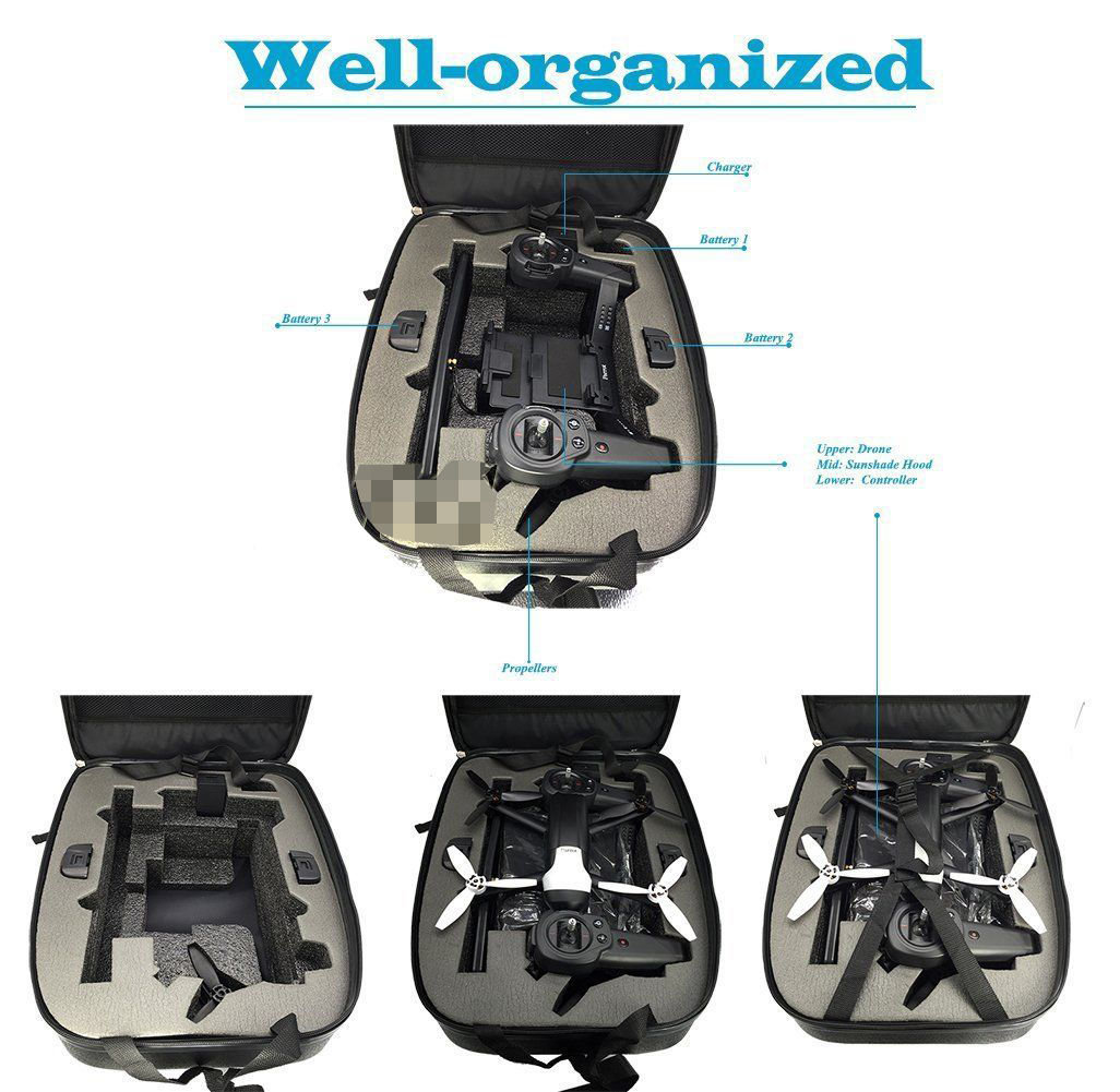 Carrying Case Shoulder Backpack Bag For Parrot Bebop 2 Drone Waterproof In Parts Accessories From Toys Hobbies On Aliexpress Alibaba Group