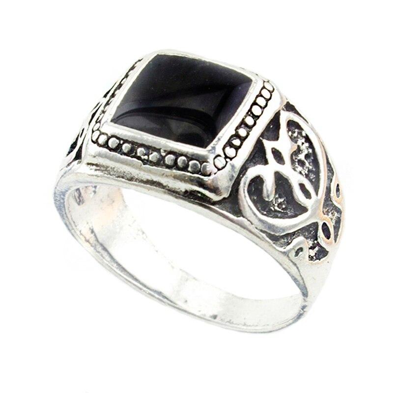 EKUSTYEE высококачественные простые обручальные кольца для женщин модные ювелирные изделия готические винтажные массивные кольца мужские юве...