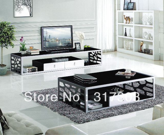 Livingroom Furniture Set Mdf Table Simple Design Fashional Function Tv