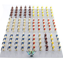 21PCS/LOT Star Wars Battle Droid clone wars guns Compatible legoingly 75043 75058 7662 7929 mini toys fig Building Block(China)