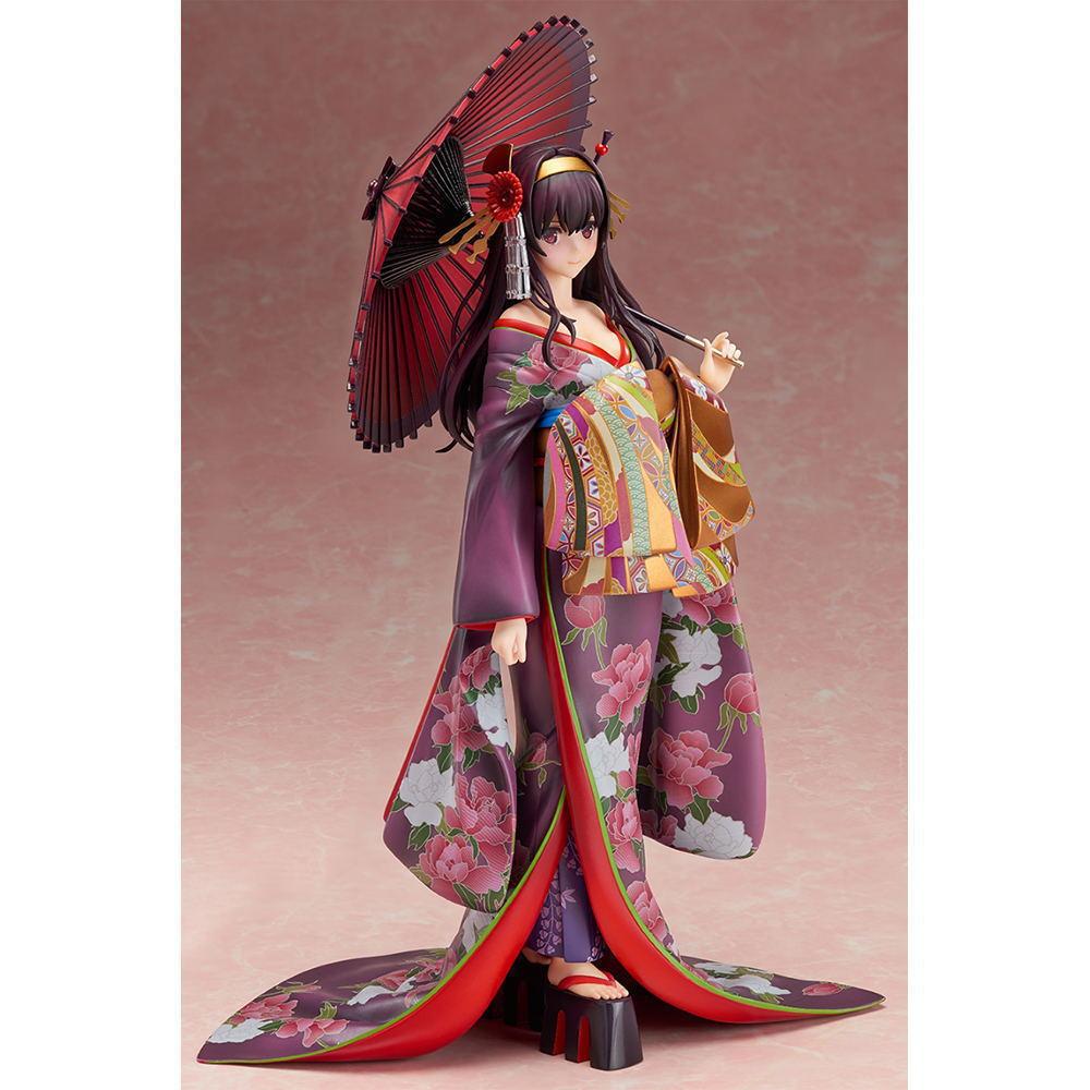 Anime Saenai Heroine No Sodatekata Kasumigaoka Utaha Kimono Ver Xia Shiyu Hill PVC Action Figure Toys