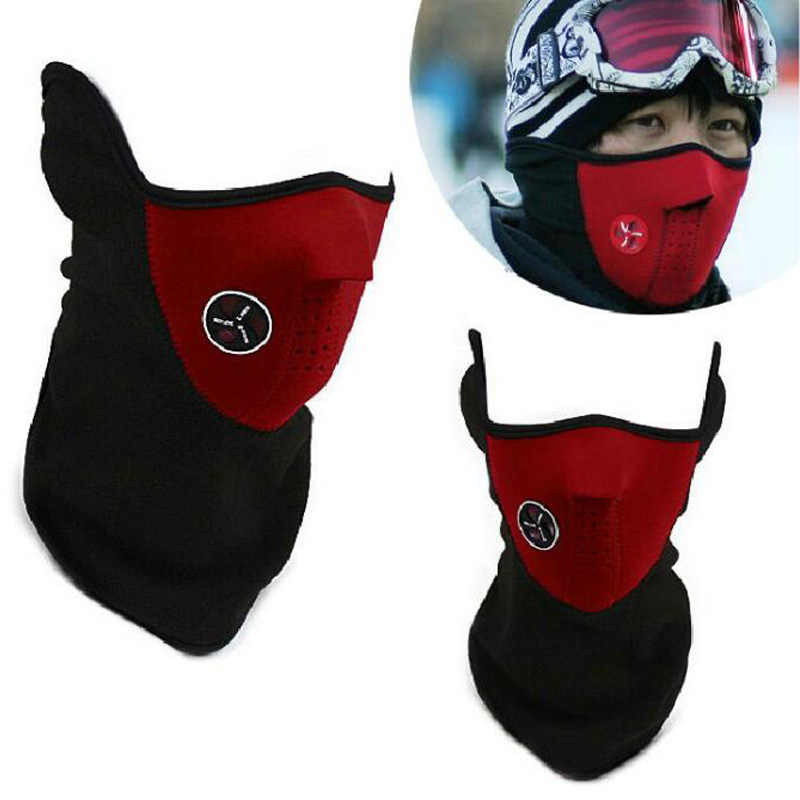 2018 neue warme Winddicht schutz gesicht maske CS kopf schal hut kalten winter wind elektrische motorrad reit maske schwarz rot blau
