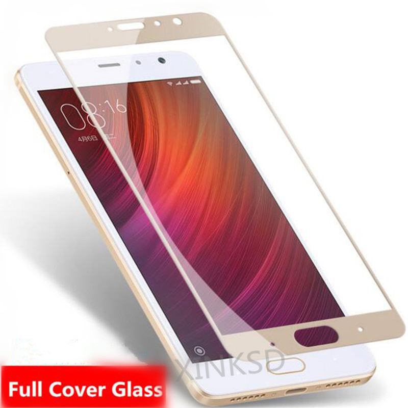 Full Cover Screen Protector for Xiaomi Mi A1 Mi5X Tempered Glass for Xiaomi Redmi Note 4X 5A 4 Pro 4A 4X 5A Screen Protector
