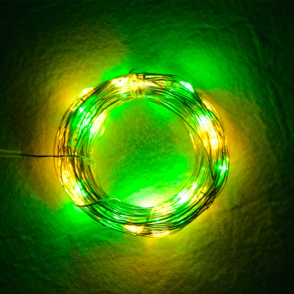 10M RGBW LED Christmas String Lights USB 5V 100 LEDs Diode Garland Fairy Lights 8 Modes 13 Key Controller Indoor Outdoor Decor