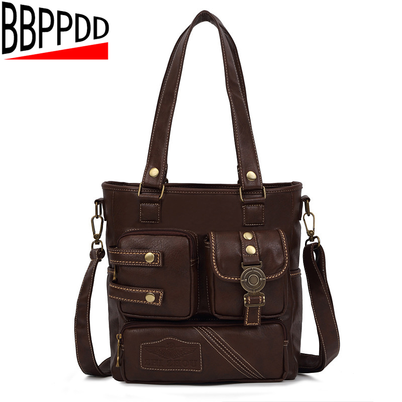 High Quality PU Leather Women Messenger Bag Big Shoulder Bag Large Capacity Totes Famous Brand Bolsa Feminina Herald Fashion New four sets 2016 new winter fashion handbags bear pendant high quality pu leather women bag wild large capacity shoulder bag
