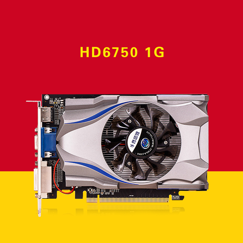 Fine shadow 1G PCI-E to strengthen the R7-250 graphics card than GT730 HD6750 more powerful