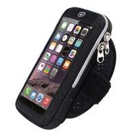 Tela de toque esporte braçadeira do telefone móvel caso para o iphone x 6s 7 8 plus xiaomi redmi 5 plus huawei brassard braço banda capa