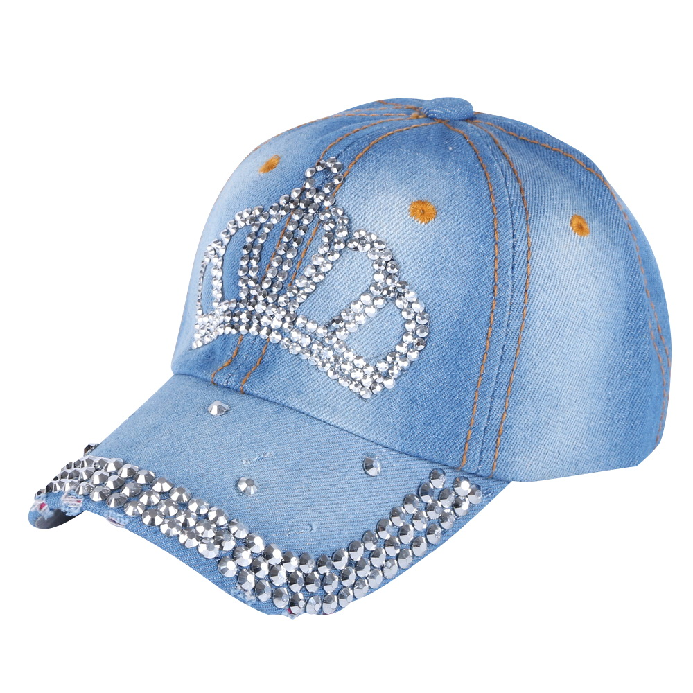 baby cute beauty baseball cap custom handmade rhinestone luxury snapback hats for boys girls outdoor sport children brand gorras