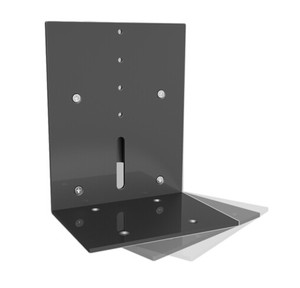 Image 3 - BL S01 di Alluminio Montaggio A Parete Speaker Supporto Tilt Swivel Audio Altoparlante di Montaggio Staffa di montaggio Rapido Facilità di Installazione Supporto Rack