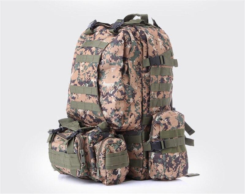 Bagpack Militaire Hommes acu army Dos À Mode Camouflage digital Camouflage Black 2017 3d Escalade Grand Sac Homme Green Voyage woodland Jungle khaki Grande cp Nouvelle desert qOZt47