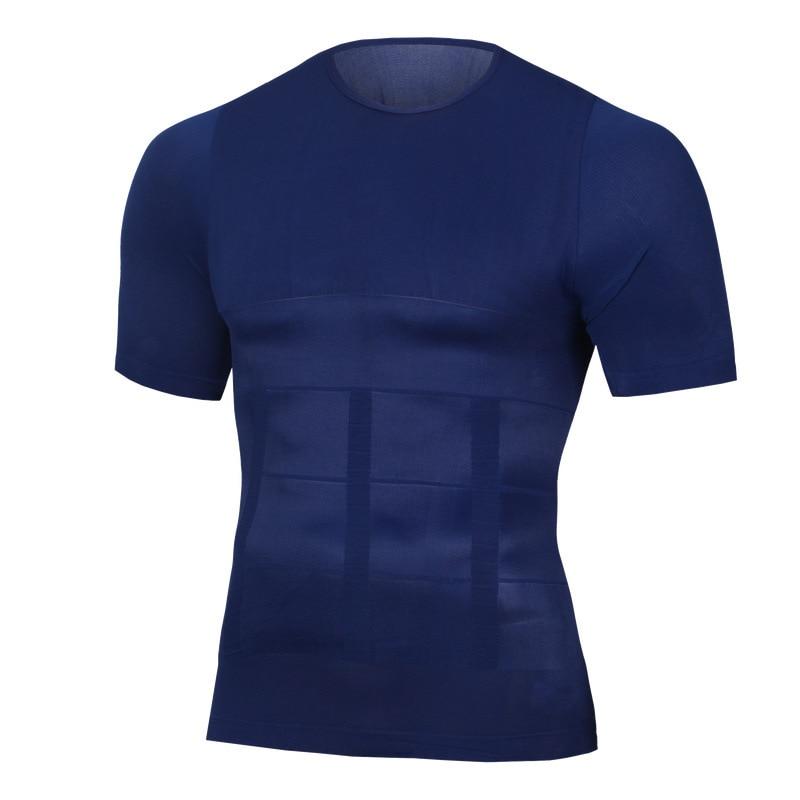 NEUE Dünne Former Körper gebäude Fett Brennen Brust Bauch Shirts Korsett Männlichen Bauch Bauch Corrector Kompression Haltung Weste