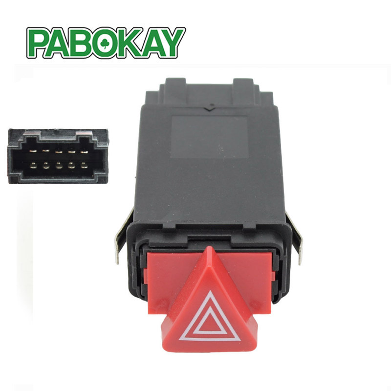 FS for Audi A6 S6 RS6 C5 Allroad Quattro Emergency Hazard Warning Light Flasher Switch Turn signal replay 4B0941509D