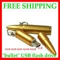 Frete grátis Metal bala usb flash drive 4 GB 8 GB 16 GB 32 GB 64 GB 128 GB usb flash disk usb pen 2 yearâ garantia