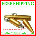 free shipping  Metal bullet  usb flash drive  4GB 8GB 16GB 32GB 64GB  128GB usb flash disk usb pen 2 yeara warranty