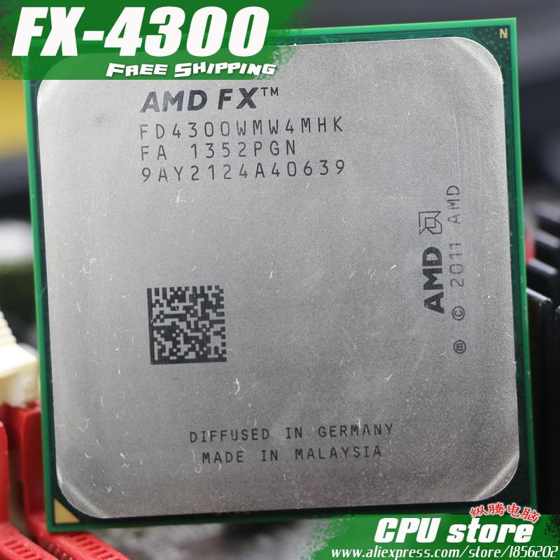 Amd Fx 4300 Am3 3 8ghz 4mb 95w Quad Core Cpu Processor Fx Serial Pieces Fx 4300 Working 100 Free Shipping Sell Fx 4100 4200 Amd Fx 4300 Am3 Fx 4100amd Fx 4300 Aliexpress