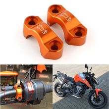 For KTM 790 Duke 2018 2019 Brake Master Cylinder Mirror Mount Clamp Cover Motorcycle Accessories CNC Aluminum Orange
