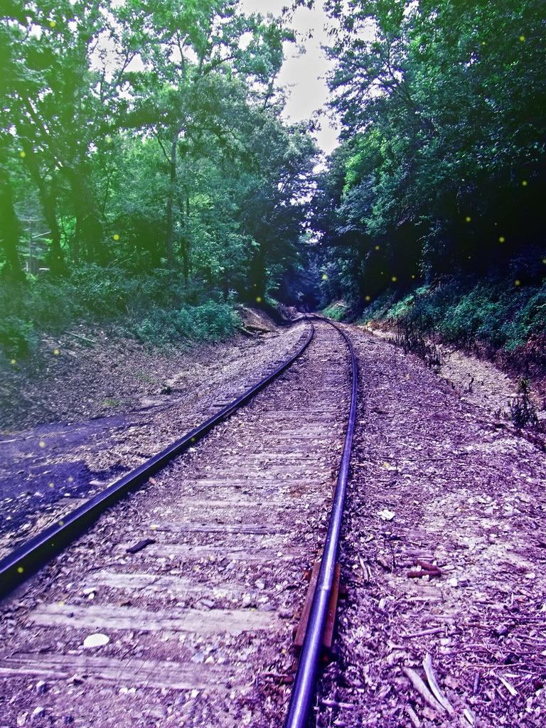 5x7ft Vinyl Custom Railway Theme Photography Backdrops Prop Photo Studio Background NTG-356