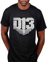 Cool t Camisas diseños hombres Hunger Games Distrito 13 camiseta televisión película catching Fire panem o-cuello manga corta mens