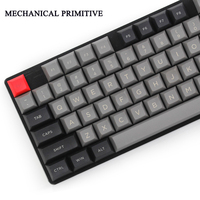 DSA 145 Keys PBT Radium Valture Keycap Cherry MX Switch Keycaps For Wired USB Mechanical Gaming