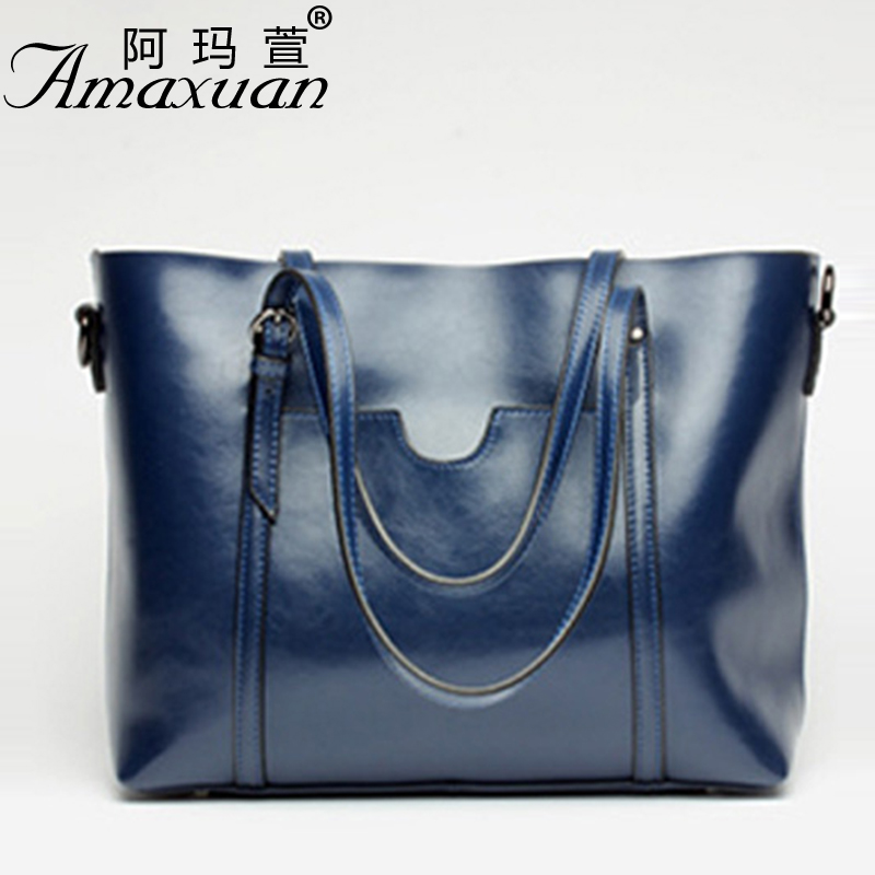 Ladies bag 2017 new trend fashion handbags large capacity shopping bag genuine leather bag simple shoulder ladies bag BBH1387 ladies bag 2017 new trend fashion handbags large capacity shopping bag genuine leather bag simple shoulder ladies bag bbh1387