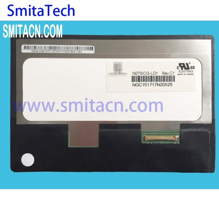 7.0 pouces pour Chimei Innolux N070ICG-LD1 panneau d'affichage LCD 40 broches