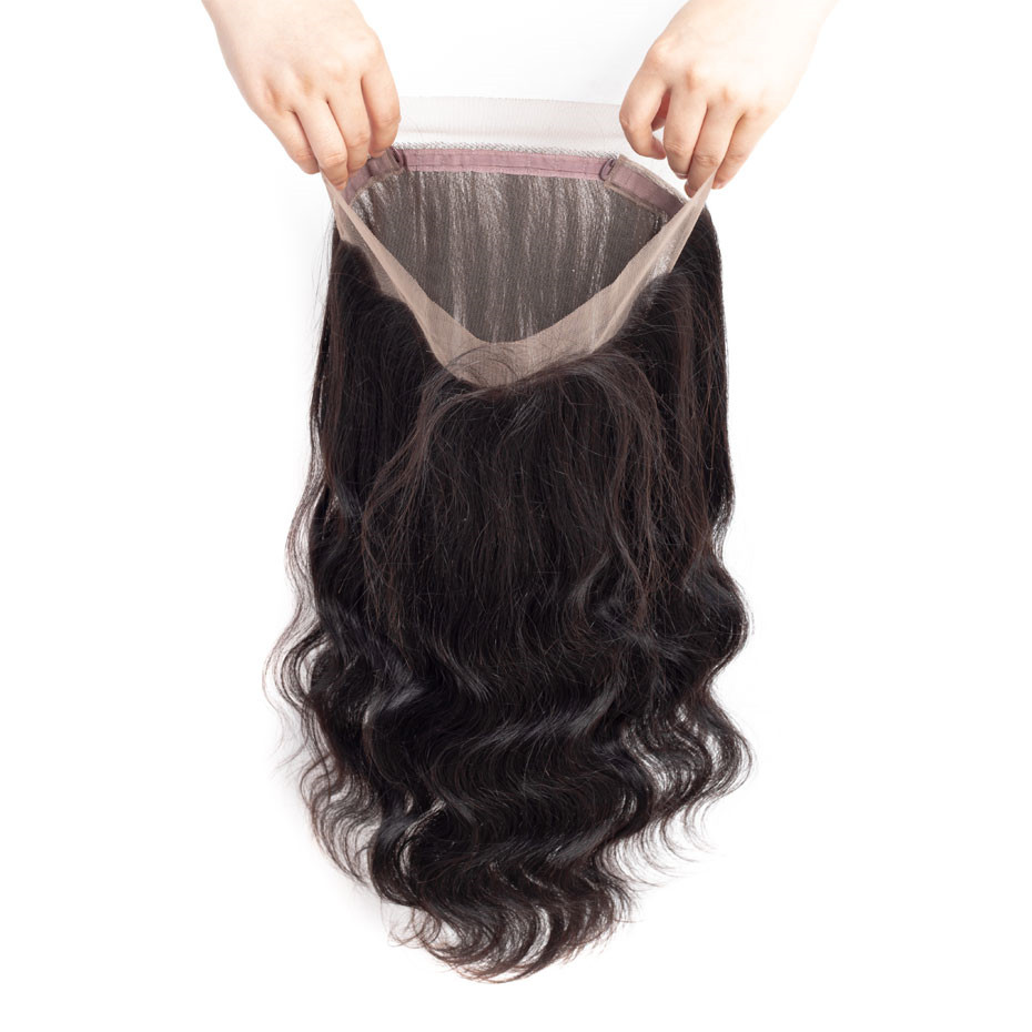 Image 5 - Gabrielle 360 Lace Frontal with Bundles Brazilian Human Hair Body Wave Bundles with Frontal Closure 100% Remy Hair Weaving-in 3/4 Bundles with Closure from Hair Extensions & Wigs