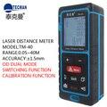Портативный лазерный дальномер 0 05-60 м  Бесконтактный ЖК-дисплей  цифровой лазерный дальномер