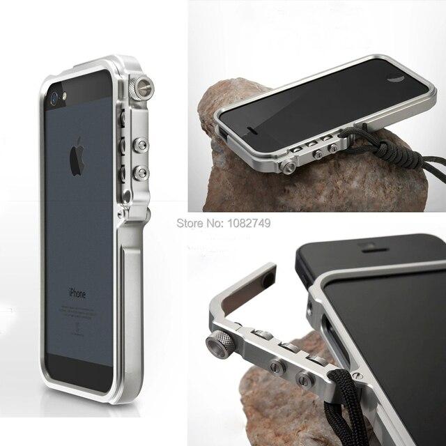 5s Man Mechanical Arm Aluminium Bumper Case For Apple Iphone 5s 5