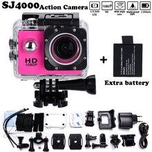 """Envío libre!!! Mini Videocámara go héroe pro 3 estilo estilo 1080 p Full HD DVR SJ4000 Cámara de La Acción 1.5 """"Pantalla LCD resistente al agua 30 M"""