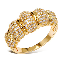 New Trendy Women Ring Luxury Party Gift For Lover Bling Jewelry Top Quality Micro Pave Setting