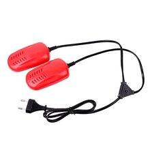 220 В 10 Вт ЕС вилка гоночный автомобиль форма Voilet светильник Сушилка для обуви Защита ног ботинок Запах Дезодорант осушающее устройство обувь сушилка нагреватель